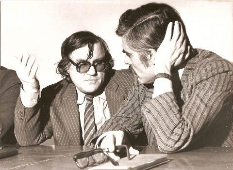 Geo Saizescu și Constantin Craciun